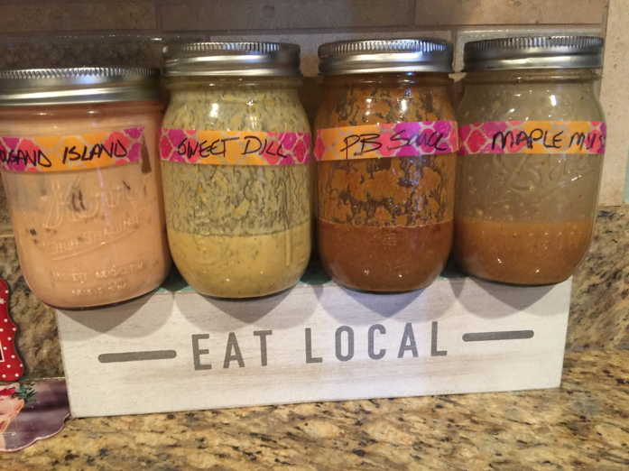 homemade vegan dressings